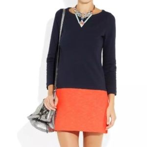 J. Crew Maritime Color Block Dress